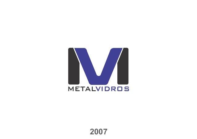Metal vidros manual de identidade visual