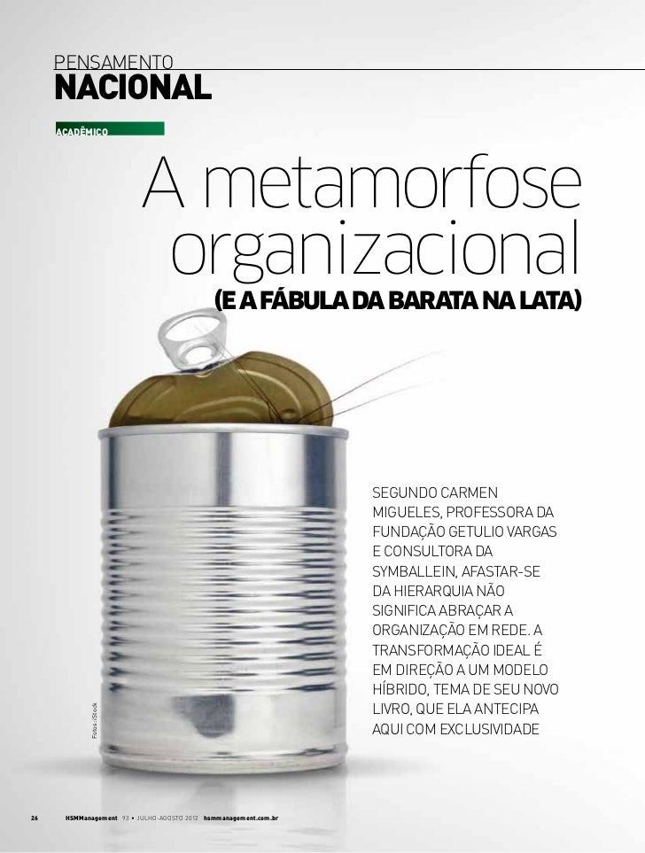 Metamorfose organizacional