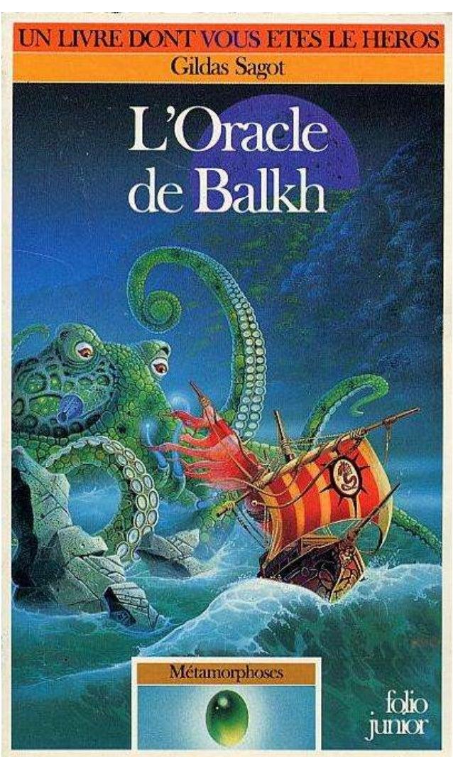 Gildas Sagot L'Oracle de Balkh Métamorphoses/2 Illustrations de Philippe Mignon Gallimard