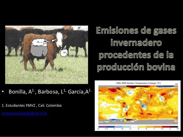 CH4                    (m etano)                                       CH4• Bonilla, A1., Barbosa, L1, García,A1.1. Estudi...