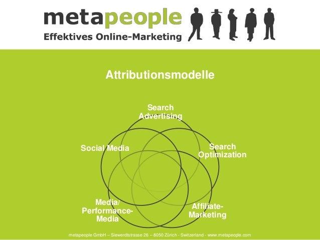 Attributionsmodelle                                  Search                                Advertising     Social Media   ...