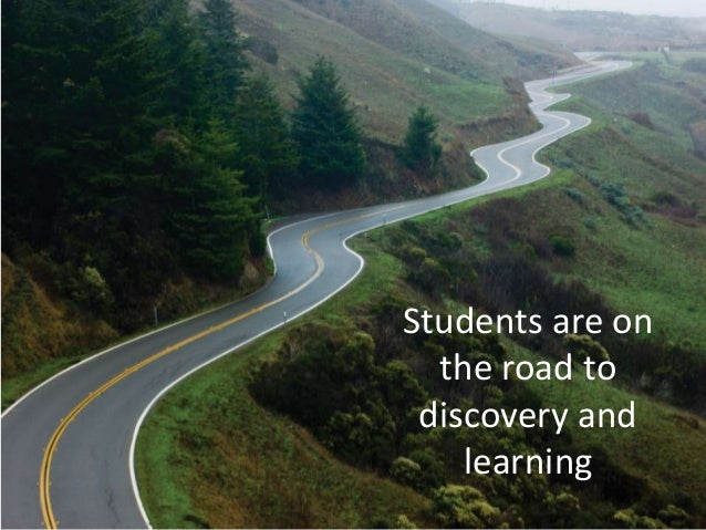 Students are on the road to discovery and learning