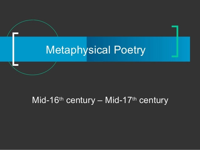 the metaphysical properties of