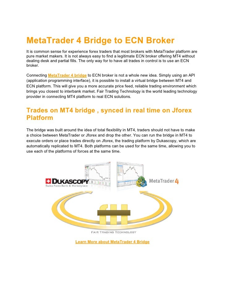 P forex ecn brokers