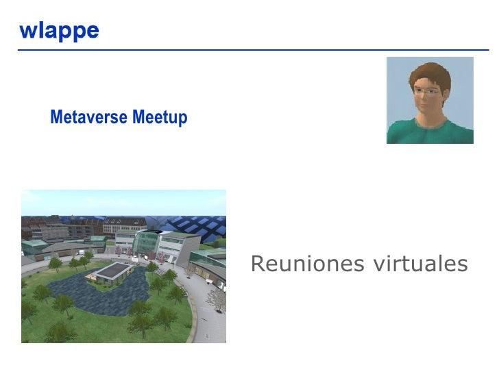Metaverse Meetup  Reuniones virtuales