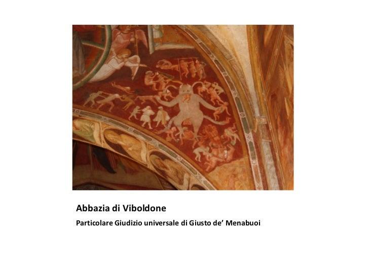Abbazia di ViboldoneParticolare Giudizio universale di Giusto de' Menabuoi