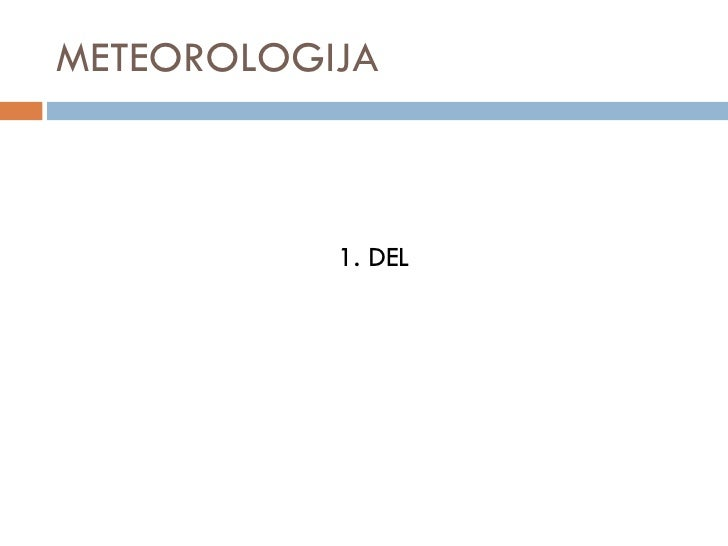Meteorologija