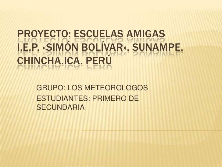 Meteorólogos