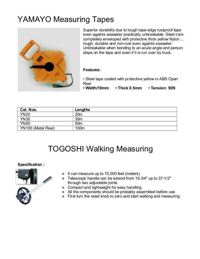 Yamayo Measuring Tools : Jual meteran yamayo steel m