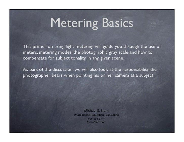 Reflective Metering Primer