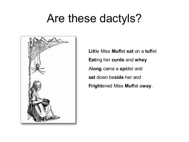 Meter in poetry middle school