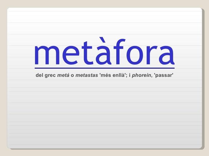 MetàFores