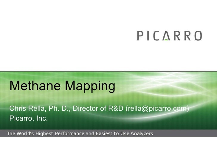 Methane Maps of DISH and Flower Mound (Texas) - Likely Indication of Benzene and VOCs