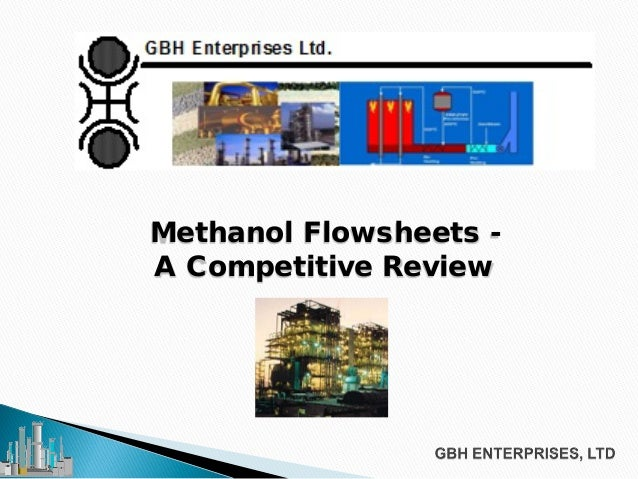 Methanol Flowsheets - A Competitive Review