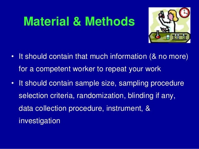 Science Thesis Writing Methods - CLAS Users