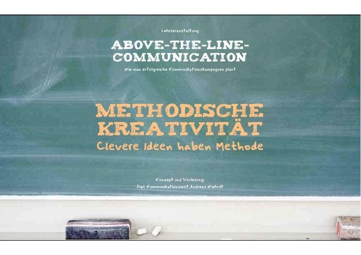 Methodische Kreativität