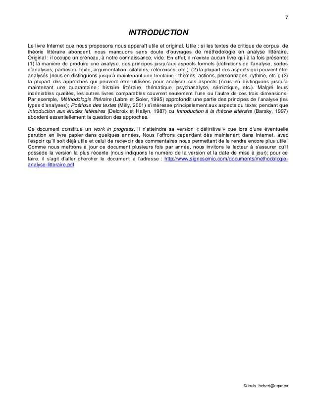 ... analyse littéraire : Analyse, dissertation, commentaire, compte-rendu