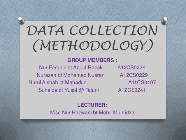 Methodology 18 mac13