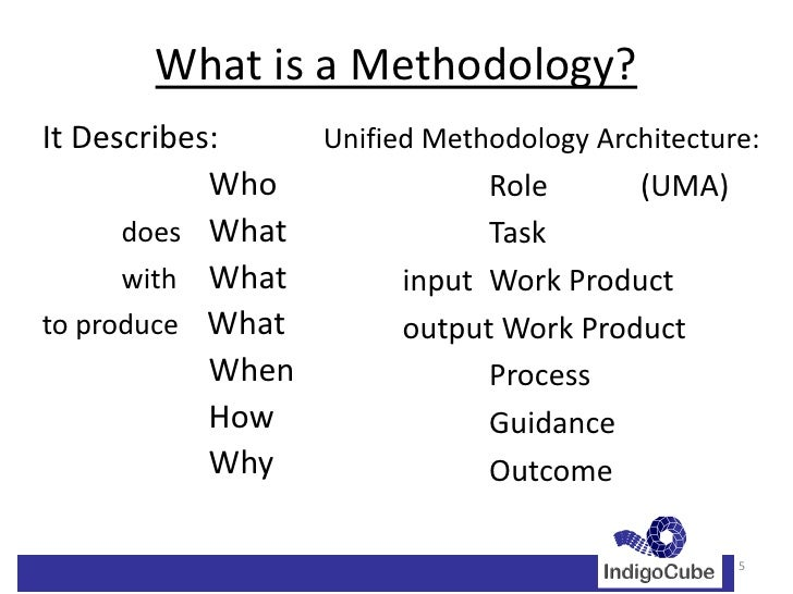 Work Methodology Example Templates Examples Work