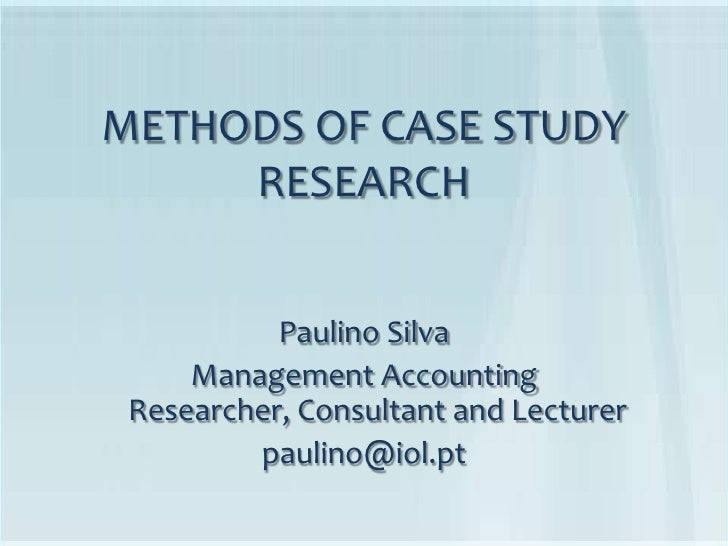 case study research methodology yin Of developing research questions in case study research, yin makes a strong plea for using propositions this is often confused with grounded theory (glaser & strauss.