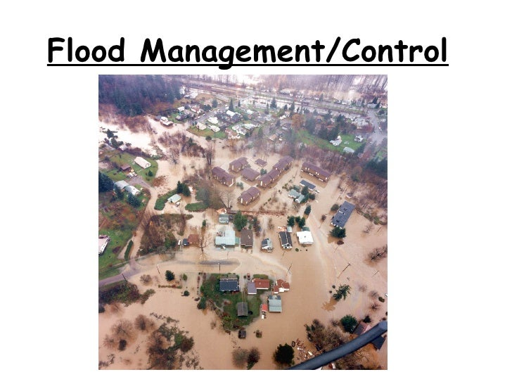 Methods Of Flood Control1274