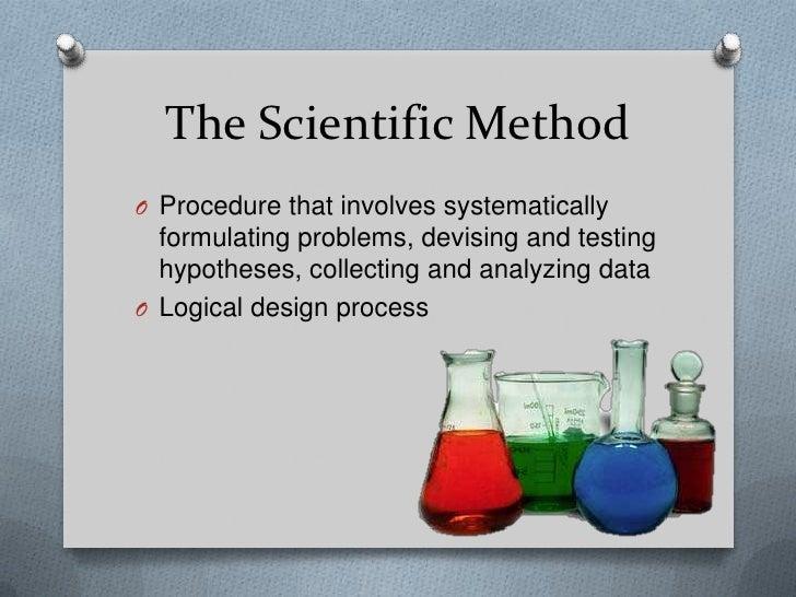 research paper scientific method