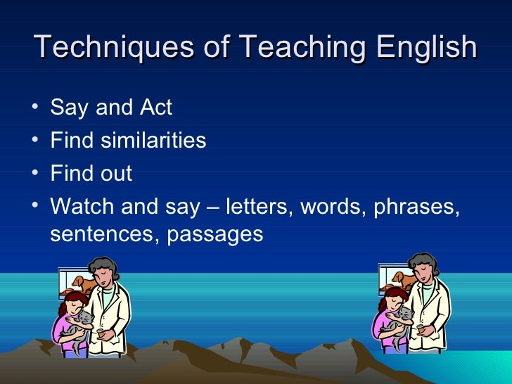 techniques of teaching english pdf