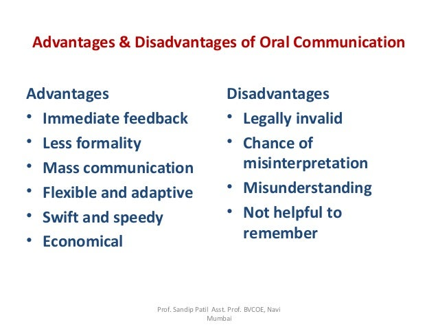 modern methods of communication and their advantages and disadvantages Identify relationship and task advantages and disadvantages of working in disadvantages despite the advantages it to more traditional methods.