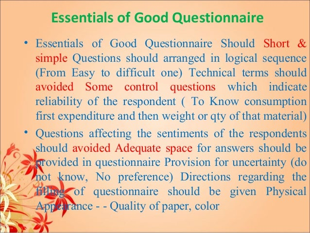 Why are questionnaires a good method of primary research?