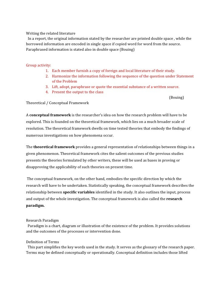 example of related literature for study habits & studies the review of related literature for this study focuses on the factors affecting the study habits of high school students study habits essay example.