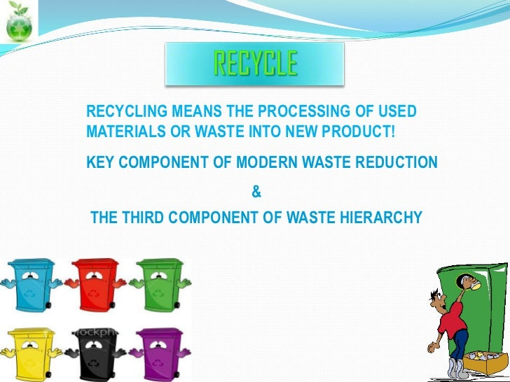 the importance of recycling essay example A model ielts recycling essay with a most people would agree that young people need to be taught about the importance of recycling waste for example, parents.