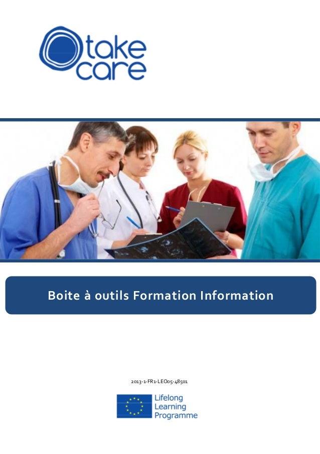 2013-1-FR1-LEO05-48501 Boite à outils Formation Information