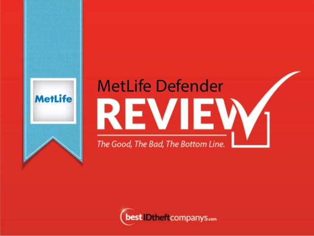 MetLife Defender Review, Identity Theft Protection