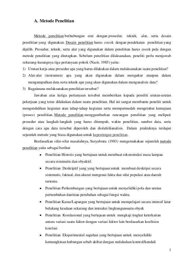 SAP 2Metode penelitian
