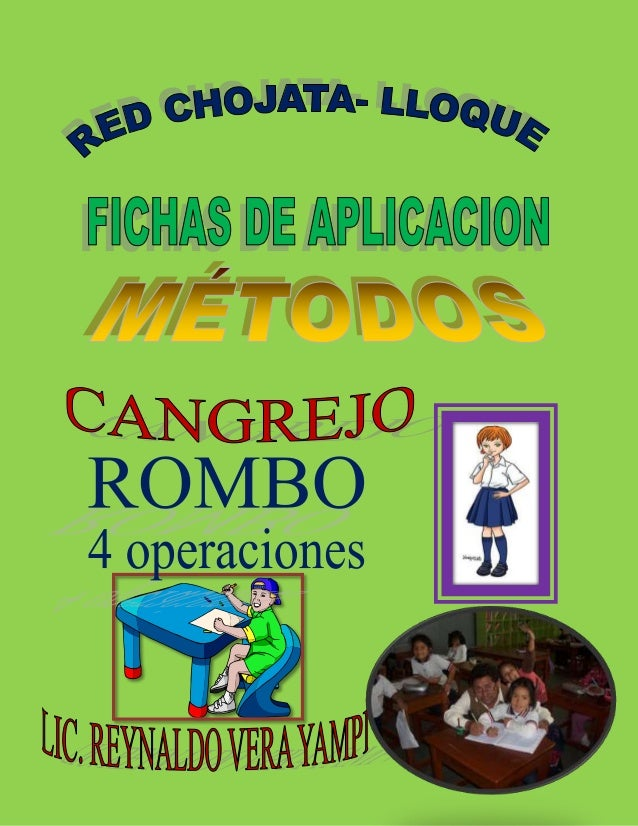 """RED EDUCATIVA """"CHOJATA- LLOQUE"""" Lic. Reynaldo Vera Yampi Esp. Educación Primaria INCREIBLE… EL CANGREJO NOS AYUDA A CALCUL..."""