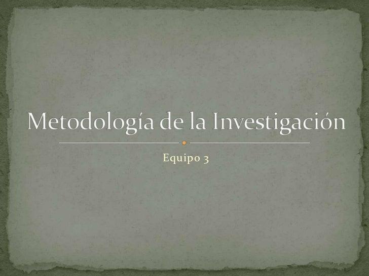 Video investigacion