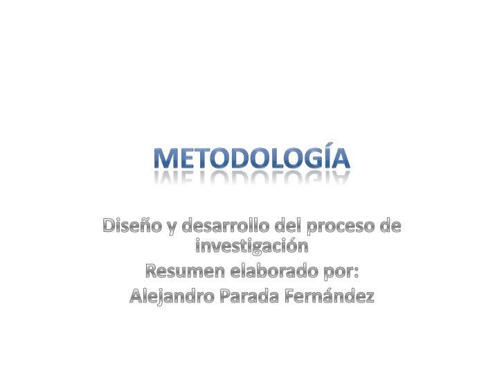 El investigador define en que área del   conocimiento, referida a su formación   profesional, quiere llevar a cabo la inve...