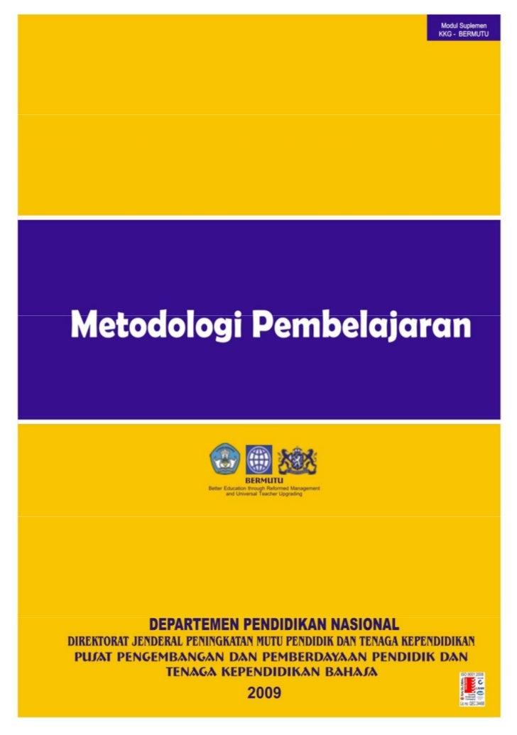 Metodologi Pembelajaran Bahasa Indonesia
