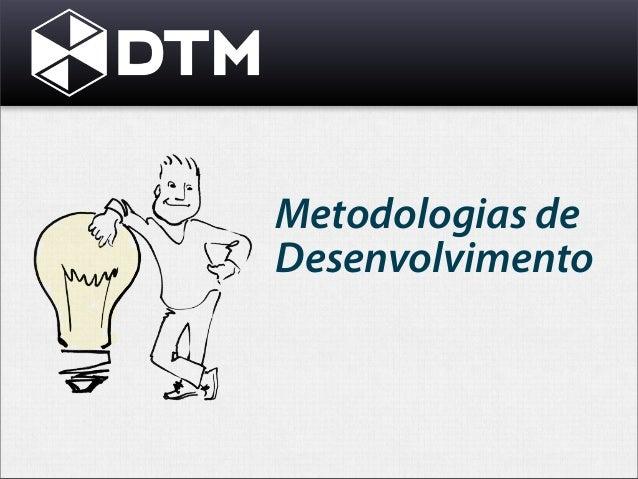 Metodologias de desenvolvimento - Waterfall vs Agile
