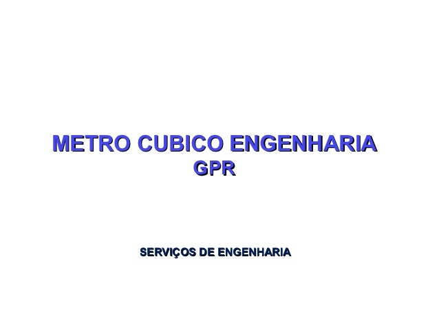 Metodologia gpr2