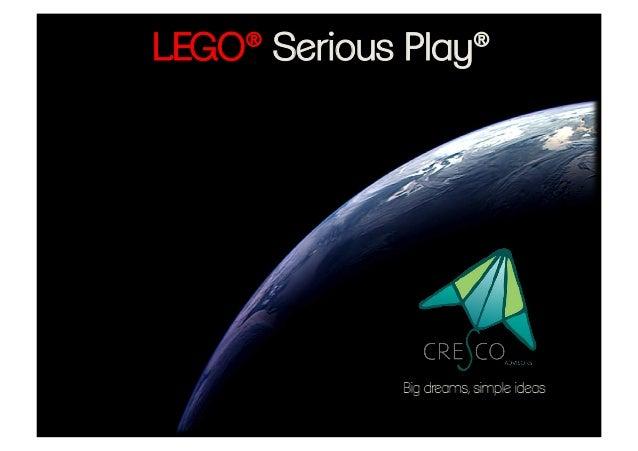 Lego Serious Play facilitado por CRESCO Advisors