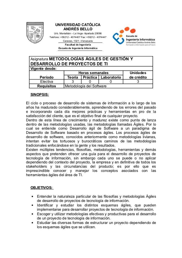 Metodologiasagilesdegestionydesarrollodeproyectosdeti