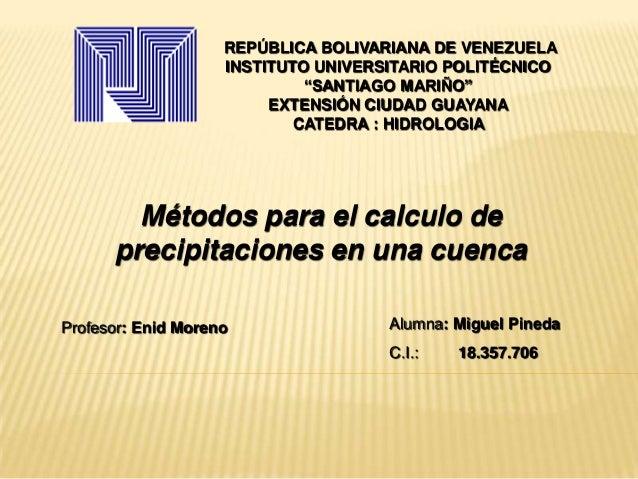 """REPÚBLICA BOLIVARIANA DE VENEZUELAINSTITUTO UNIVERSITARIO POLITÉCNICO""""SANTIAGO MARIÑO""""EXTENSIÓN CIUDAD GUAYANACATEDRA : HI..."""