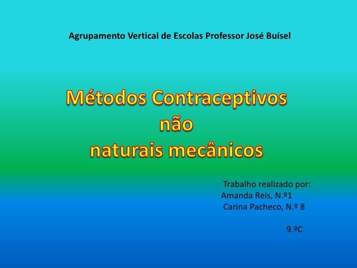 Metodos concrtaceptivos