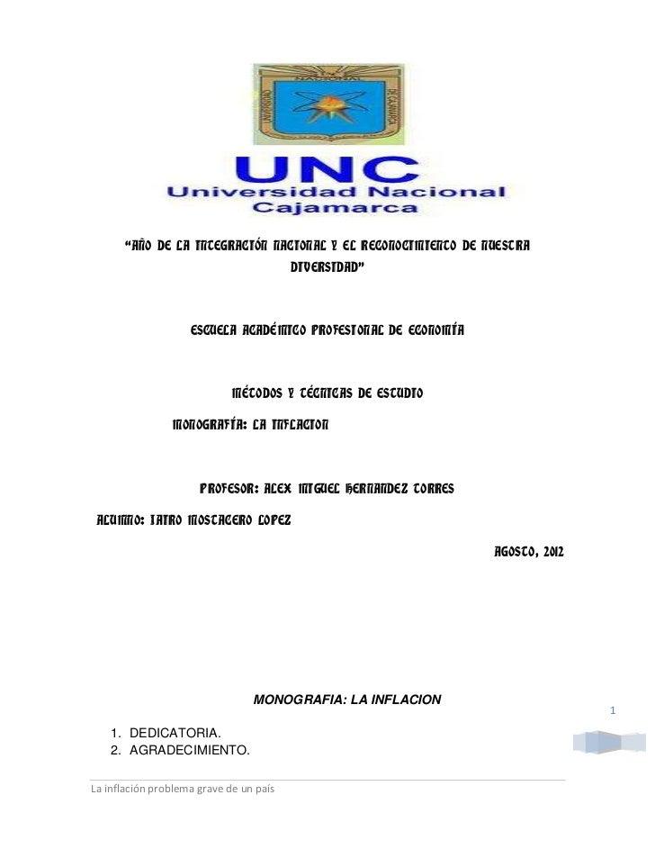"""""""AÑO DE LA INTEGRACIÓN NACIONAL Y EL RECONOCIMIENTO DE NUESTRA                                         DIVERSIDAD""""        ..."""