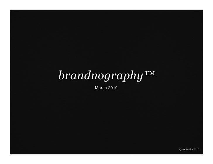 introducing brandnography™