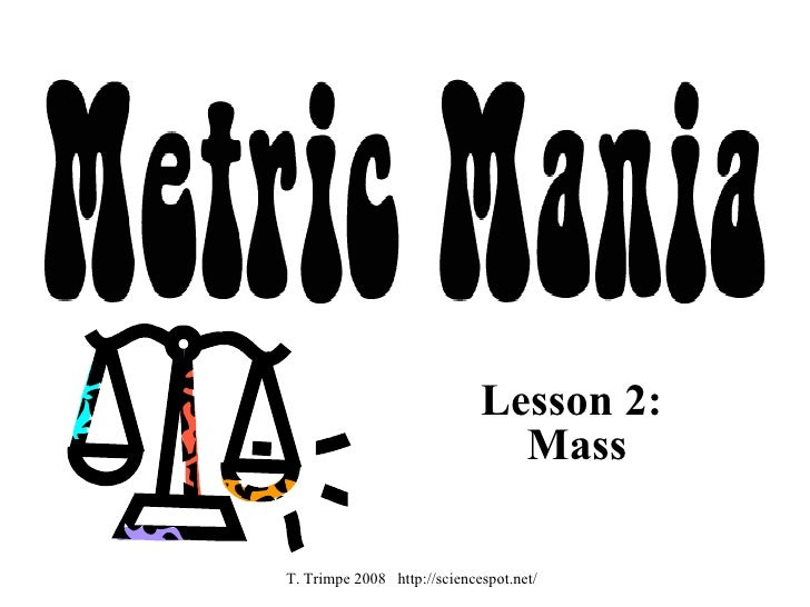 Metric Mania Notes – Metric Mania Worksheet
