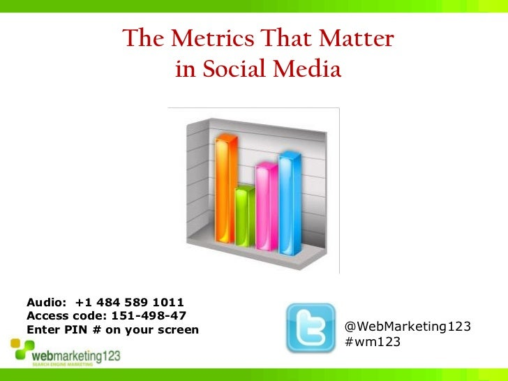 Metrics That Matter in Social Media