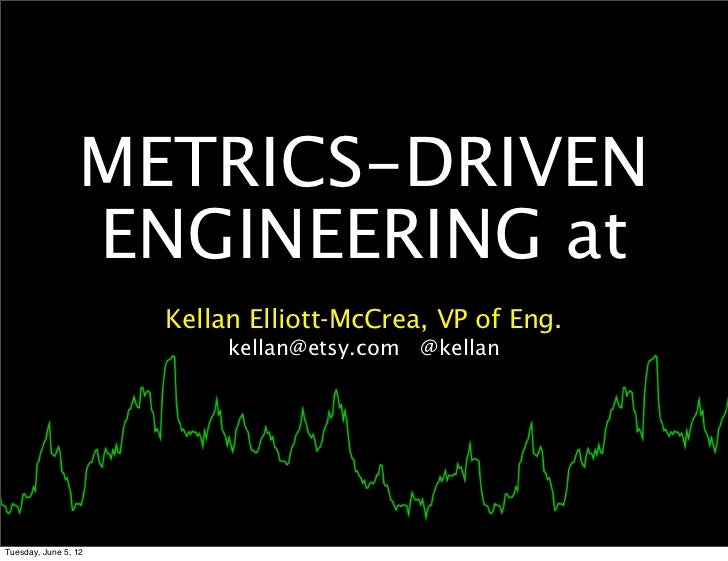 Metrics driven engineering (velocity 2011)