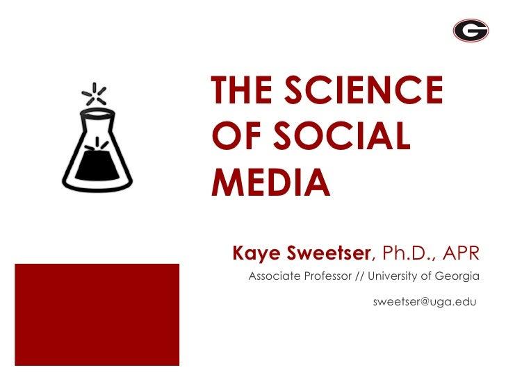 Science of Social Media